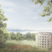 """Blättler Dafflon Architects win the architectural competition for the """"Extension du Tribunal Cantonal à l'Hermitage"""" in Lausanne."""